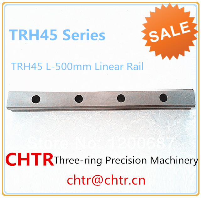 TRH45 L-500mm Linear Slide Rail CNC Linear Guide Rail Linear Slide Track 45mm