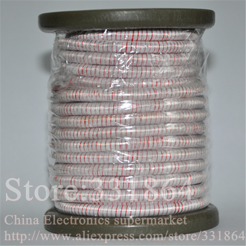 0.1mmX800 strands,(5m /pc) Mine antenna Litz wire,Multi-strand polyester silk envelope braided multi-strand wire